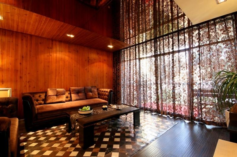 别墅 三居 简约 成都装修 成都装饰 客厅图片来自华西装饰集团在半山青城190m²小别墅实拍案例的分享