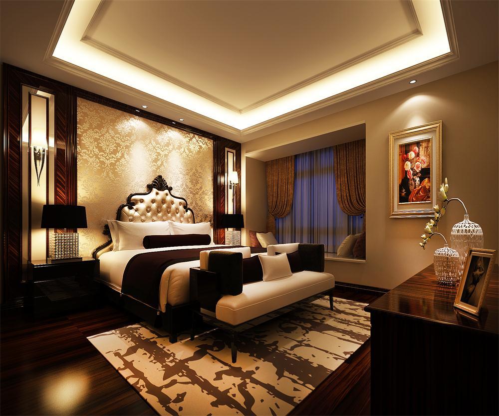 欧式 卧室图片来自广州致然装饰在会展世界城的分享