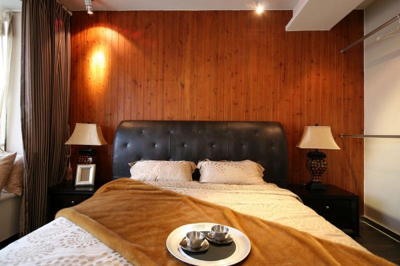 别墅 三居 简约 成都装修 成都装饰 卧室图片来自华西装饰集团在半山青城190m²小别墅实拍案例的分享