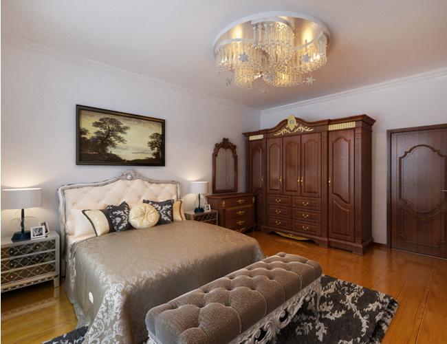 欧式 简约 三居 卧室图片来自北京世家装饰工程有限公司在省公务员小区简欧的分享