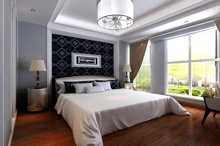 简约 三居 混搭 卧室图片来自业之峰太原分公司在高端大气的分享