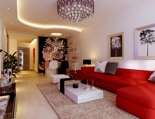 简约 三居 别墅 客厅图片来自北京世家装饰工程有限公司在爱建新城现代简约的分享