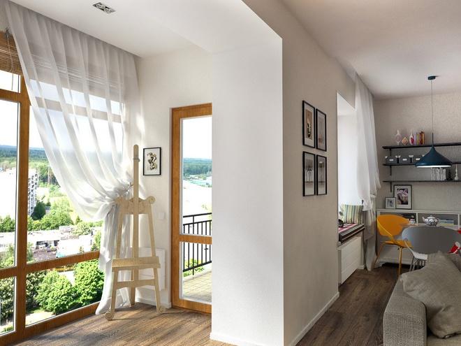 一居,北欧 收纳 小资 阳台图片来自陈小迦在布局更协调,空间更舒适的小户型的分享