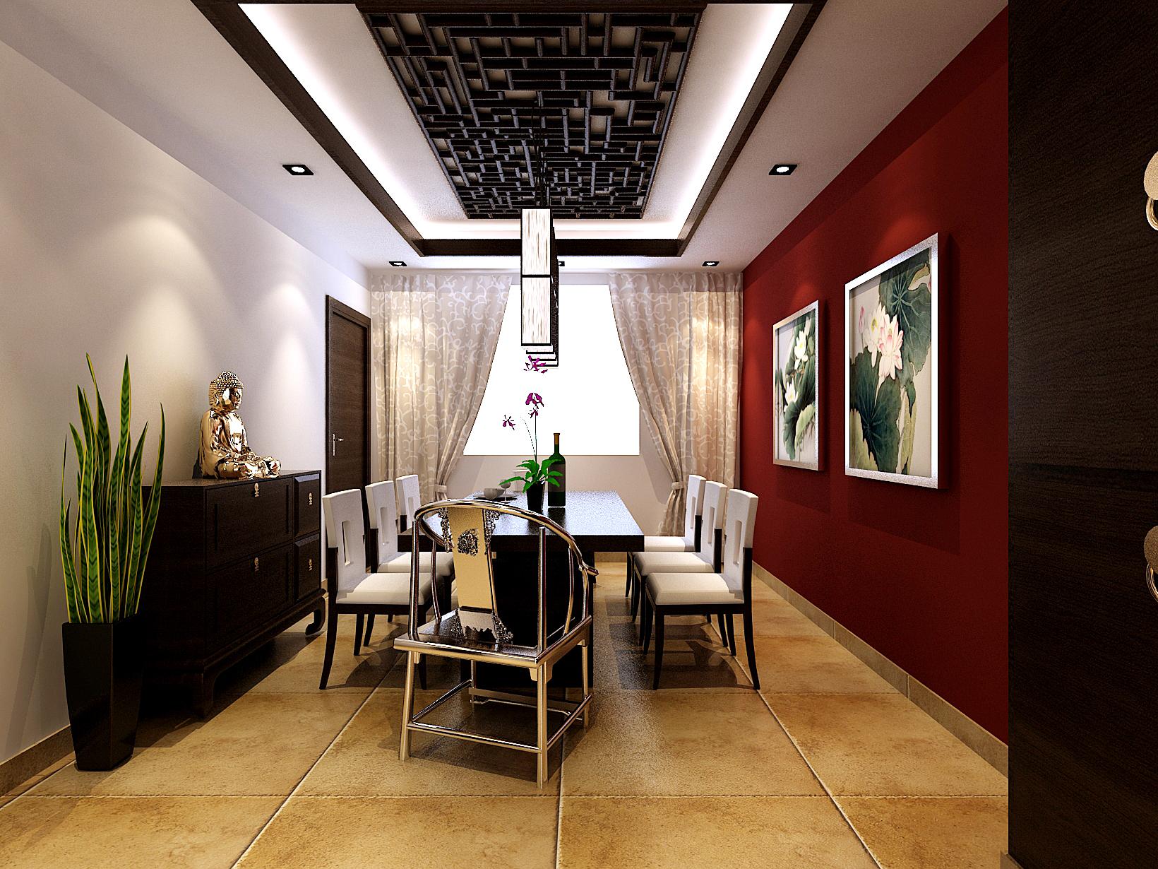 新古典 二居 餐厅图片来自tjsczs88在古典中式-121平米的分享