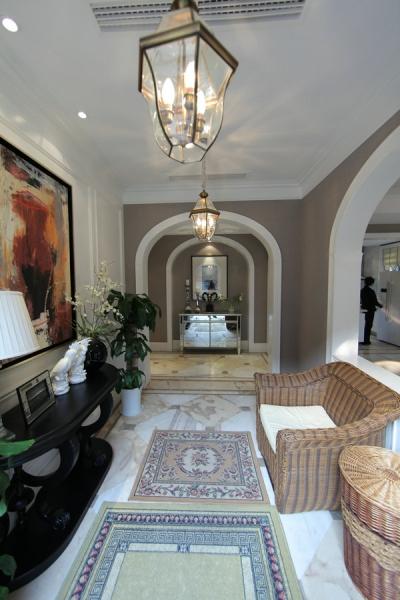 欧式 四居 成都装修 成都装饰 小资 客厅图片来自华西装饰集团在玺龙湾简欧风格案例实拍的分享