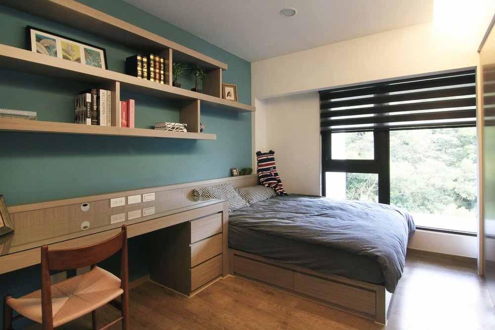 卧室图片来自成都生活家装饰徐洋在现代风格3的分享