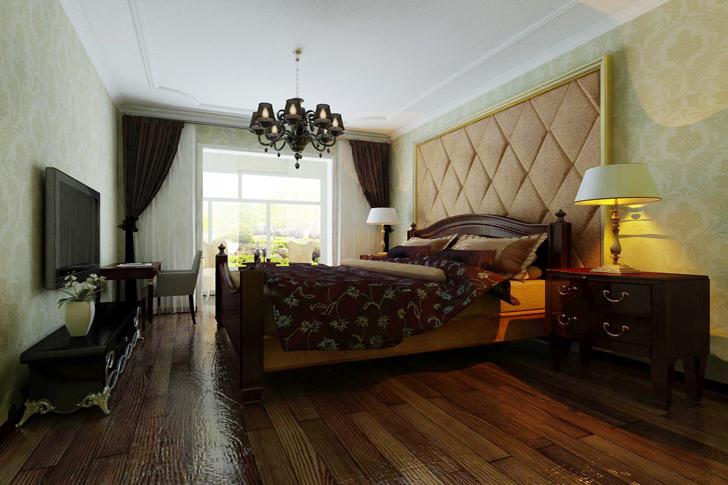 简约 欧式 三居 卧室图片来自业之峰太原分公司在贵.简欧的分享