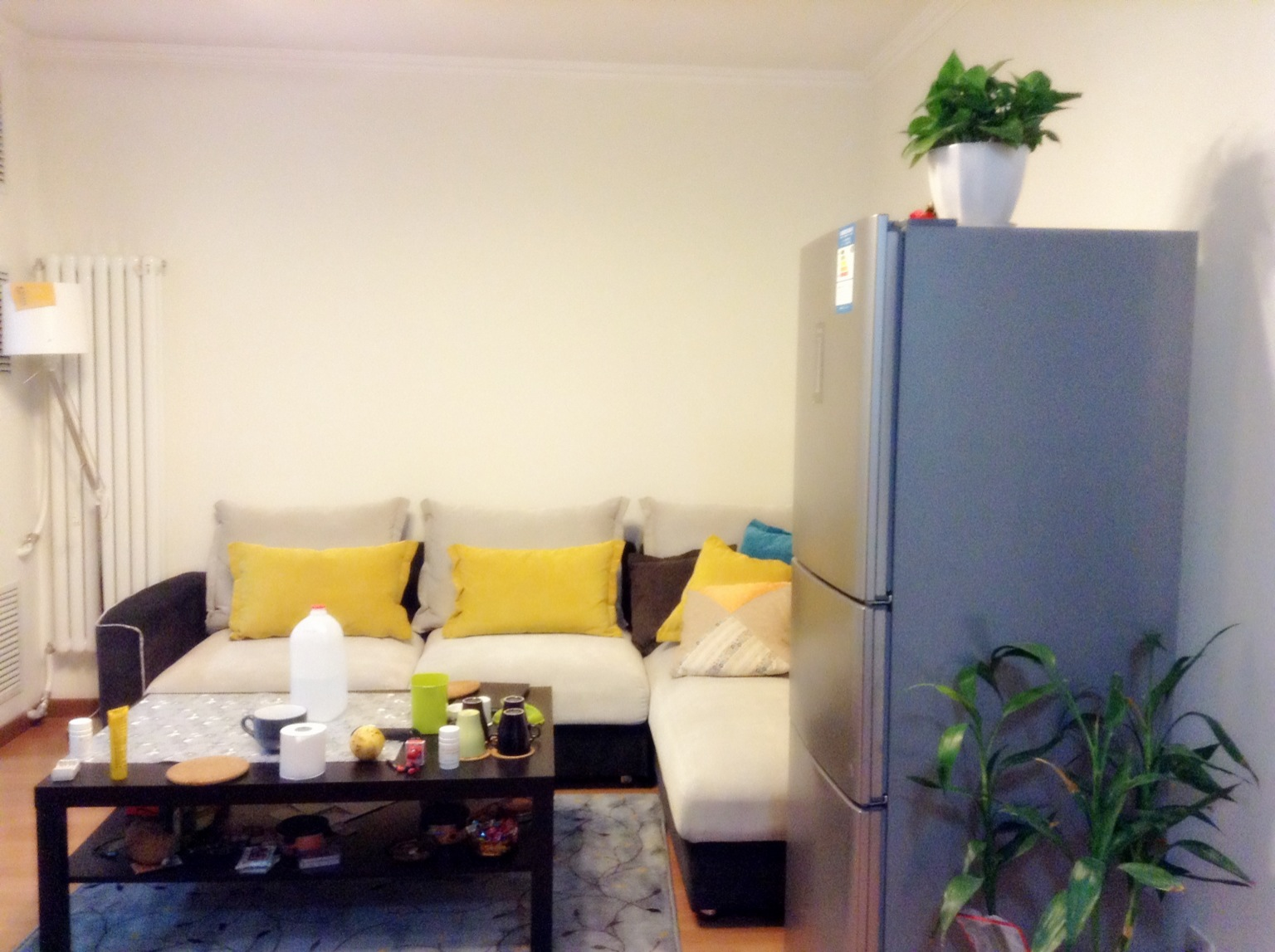 客厅图片来自今朝装饰——李胜晓在大兴黄村兴政东里的分享