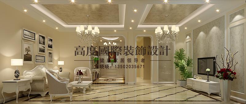 简欧 跃层 新房 客厅图片来自大小姐在逸品轩的分享