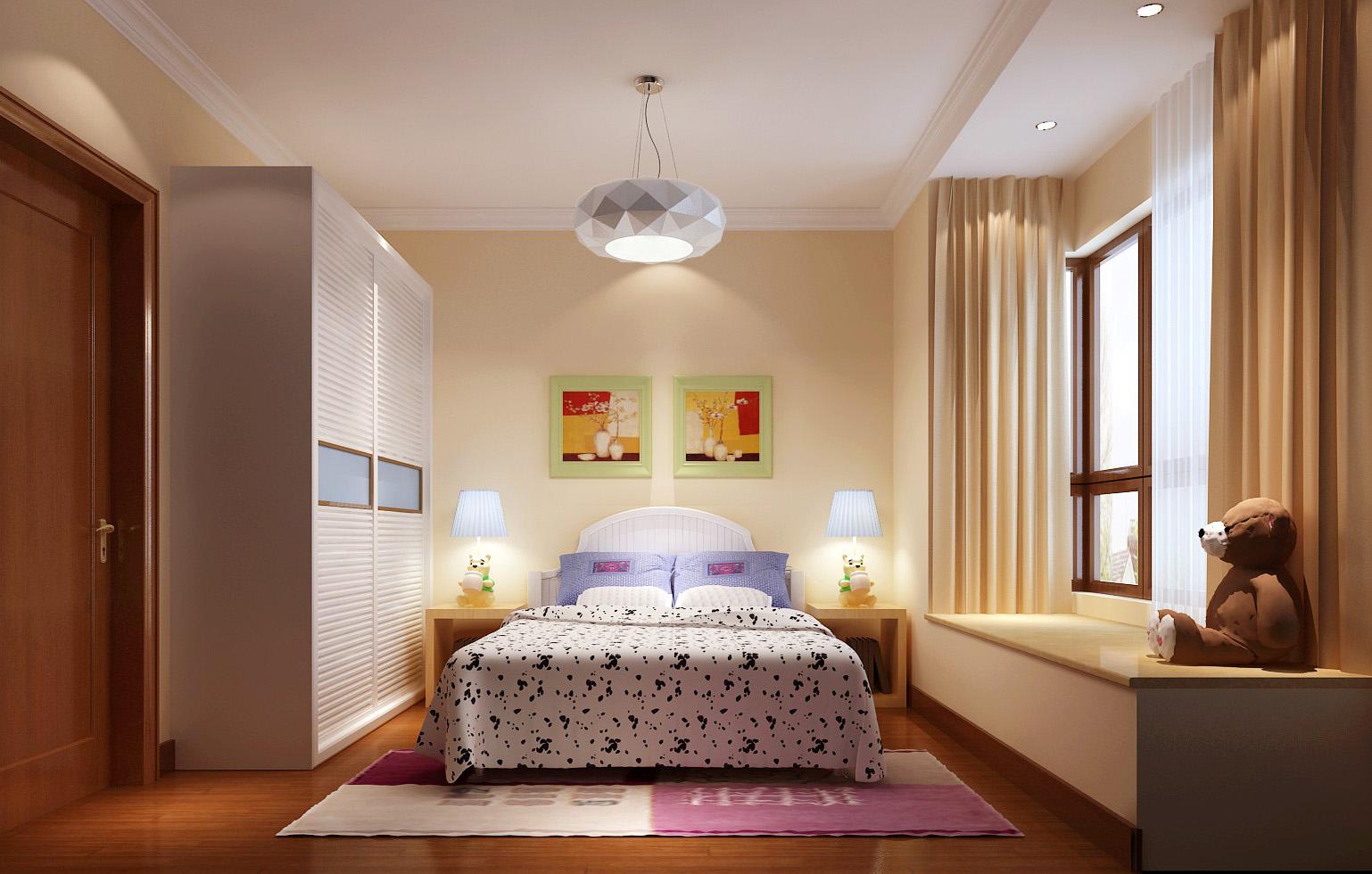 香悦四季 高度国际 欧式 简约 别墅 公寓 平层 白领 小资 儿童房图片来自北京高度国际装饰设计在香悦四季简欧风格平层公寓的分享