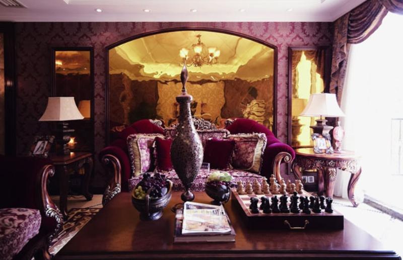 欧式 别墅 成都装修 成都装饰 客厅图片来自华西装饰集团在鹭湖宫欧式奢华大气实拍案例的分享
