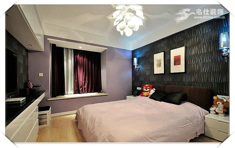 简约 二居 白领 收纳 80后 小资 卧室图片来自名仕装饰-小飞在F阳光城舒适恬静美的分享
