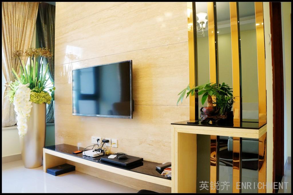 英锐齐装饰 现代简约 英锐齐设计图片来自四川英锐齐装饰在中海锦城 现代简约 实景毕业照的分享