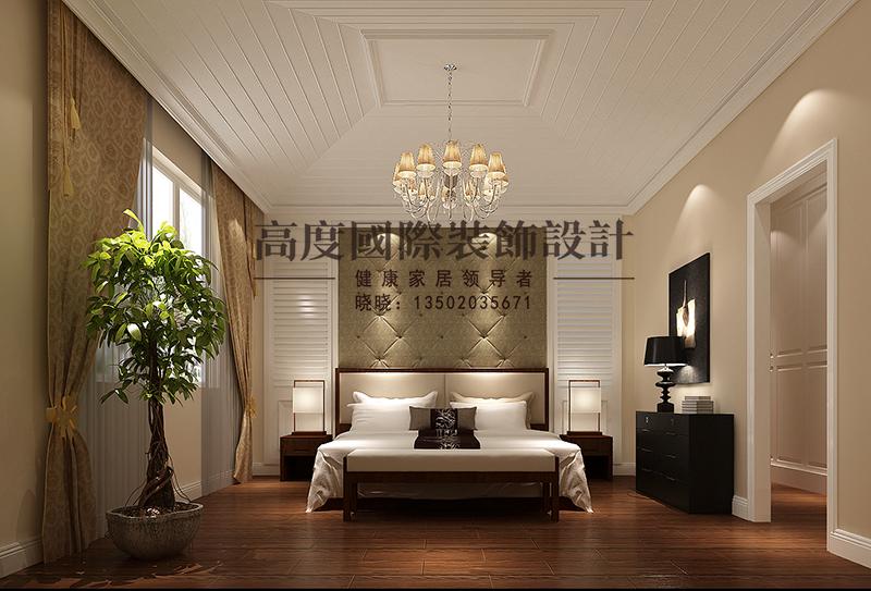 简欧 别墅 商业精英 卧室图片来自大小姐在中惠团泊湾的分享