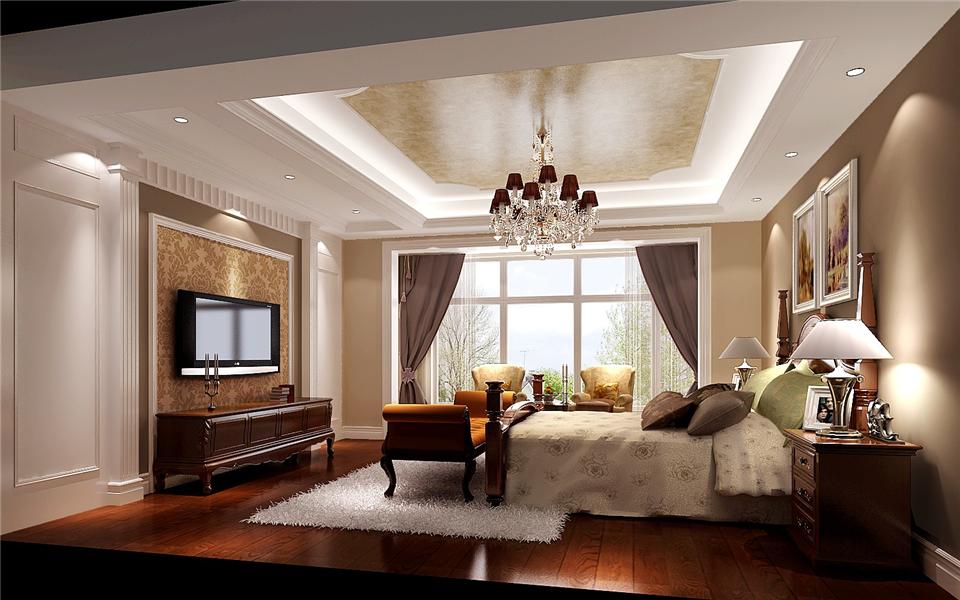 小路 高度 混搭 别墅 卧室图片来自高度国际装饰设计卢旺在混搭,极致的分享