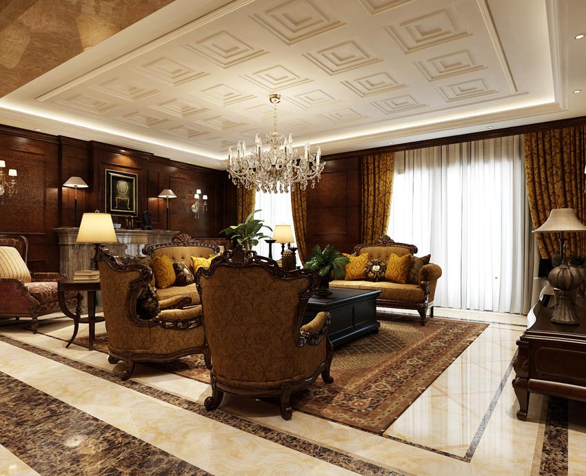 欧式 客厅图片来自郑州东易日盛装饰在郑州绿城百合220的分享