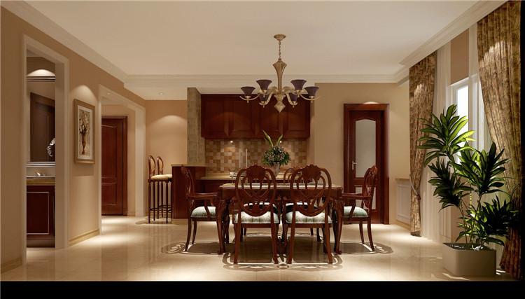 中海香克林 简约 欧式 公寓 白领 三居 80后 小资 高度国际 餐厅图片来自北京高度国际装饰设计在中海香克林浪漫简欧公寓的分享