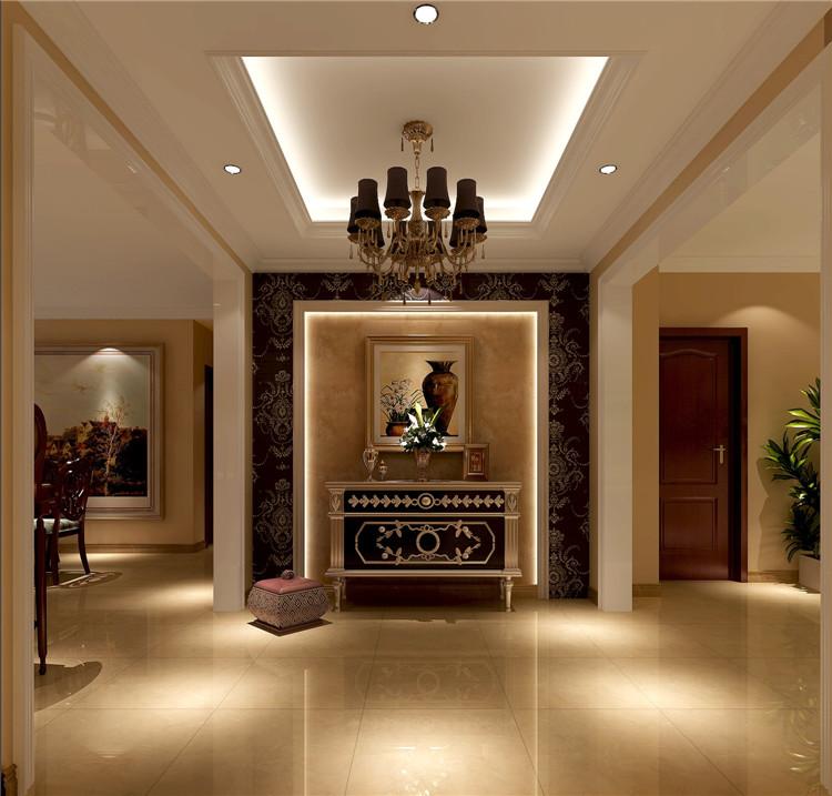 中海香克林 简约 欧式 公寓 白领 三居 80后 小资 高度国际 玄关图片来自北京高度国际装饰设计在中海香克林浪漫简欧公寓的分享