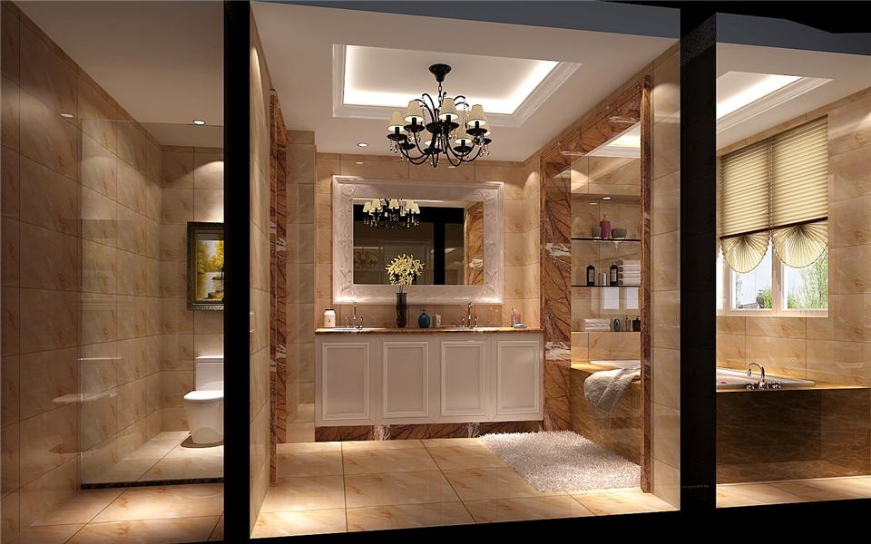 小路 高度 混搭 别墅 卫生间图片来自高度国际装饰设计卢旺在混搭,极致的分享