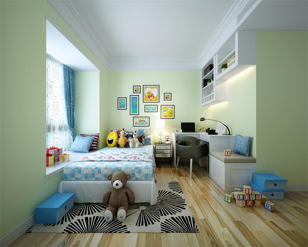 欧式 儿童房图片来自广州致然装饰在会展世界城的分享