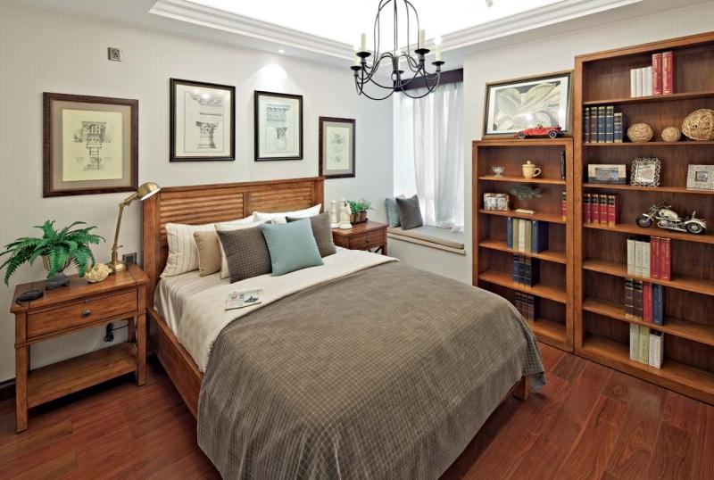 欧式 四居 成都装修 成都装饰 小资 卧室图片来自华西装饰集团在置信逸都147m²欧式风格鉴赏的分享