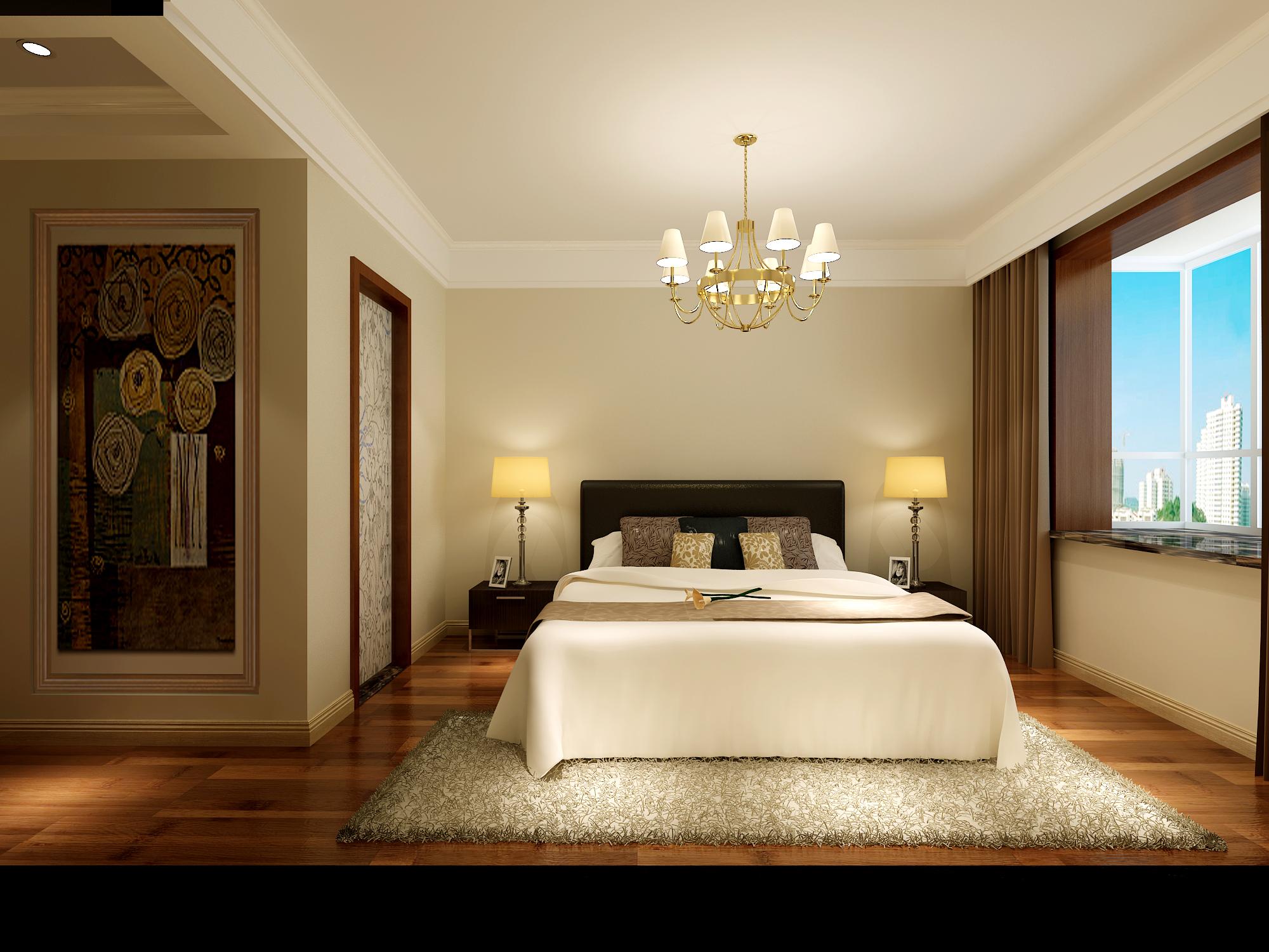 简约 二居 卧室图片来自业之峰太原分公司在简洁温馨舒适的分享