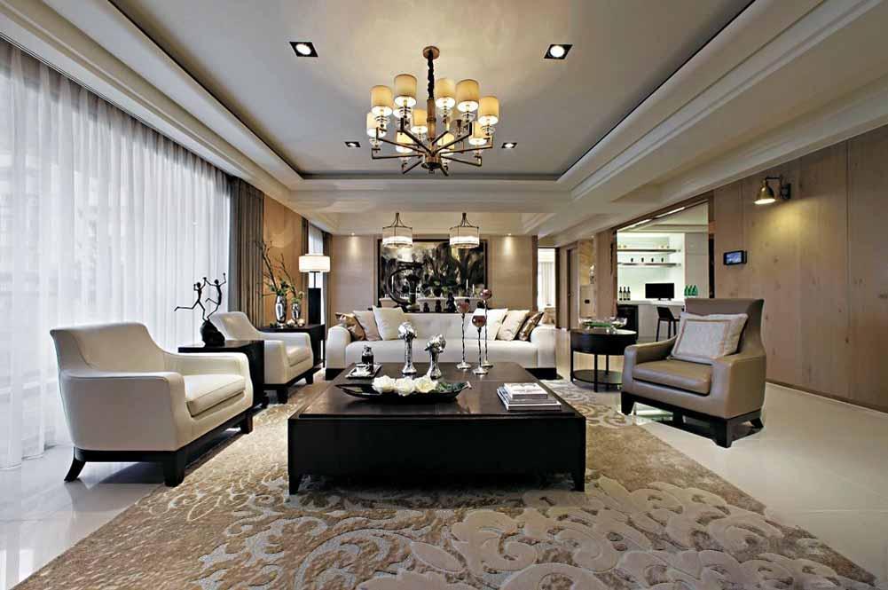 客厅图片来自成都生活家装饰徐洋在后现代的分享
