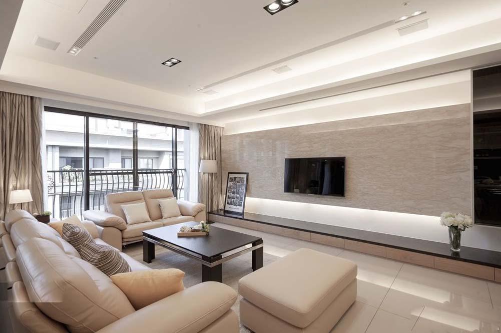 客厅图片来自成都生活家装饰徐洋在现代风格6的分享