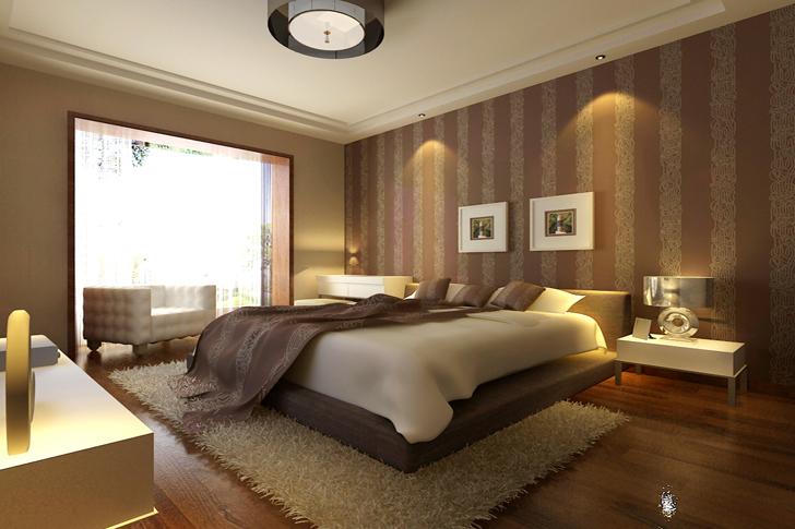 简约 混搭 卧室图片来自业之峰太原分公司在简约时尚的分享