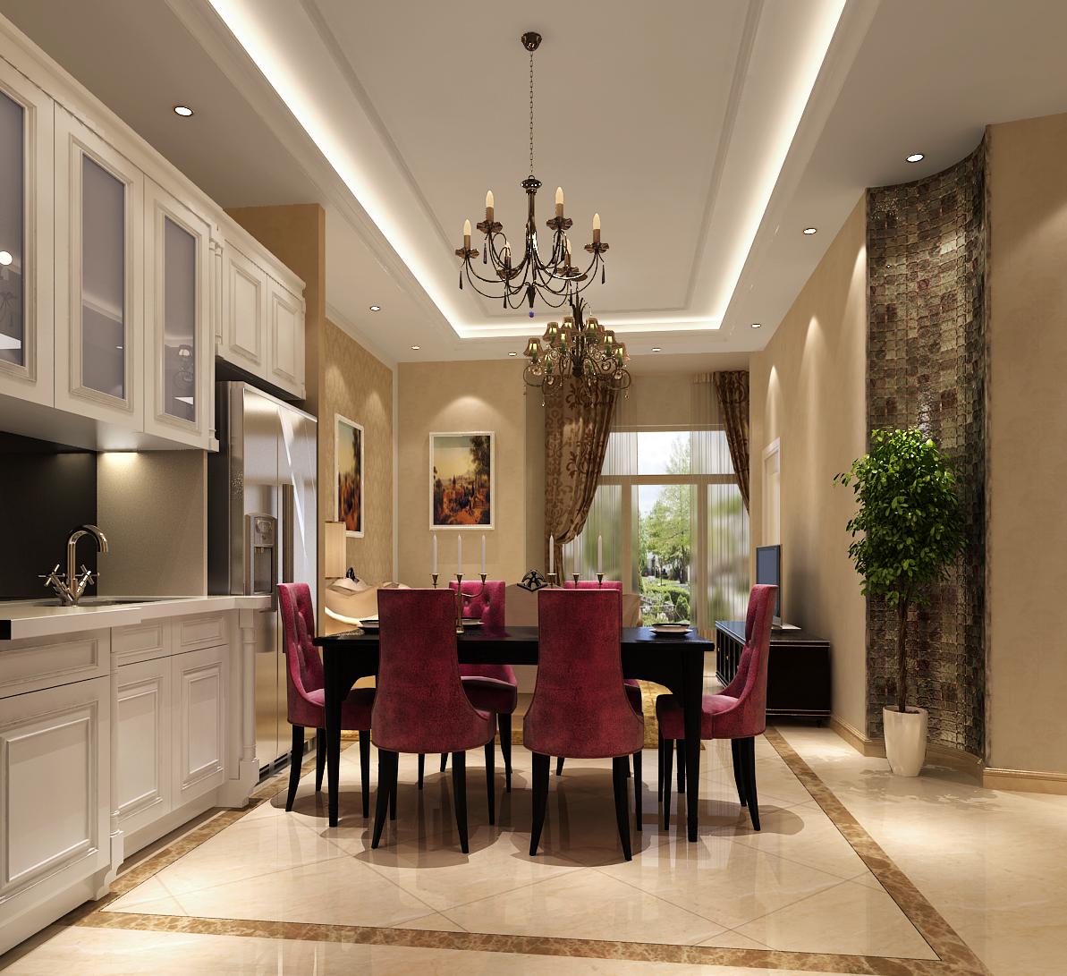 简约 欧式 三居 装修公司 高度国际 餐厅图片来自高度国际装饰华华在简约中的经典的分享