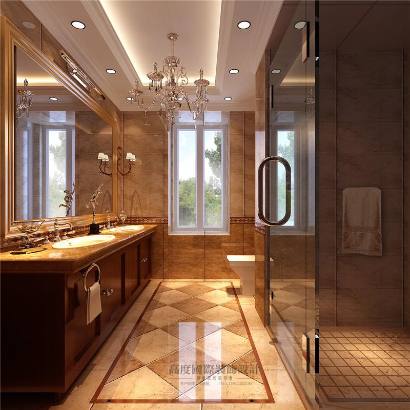 欧式 别墅 美观 豪华档次 舒适 温馨 卫生间图片来自北京高度装饰设计王鹏程在丹麦小镇377平米欧式古典风格的分享