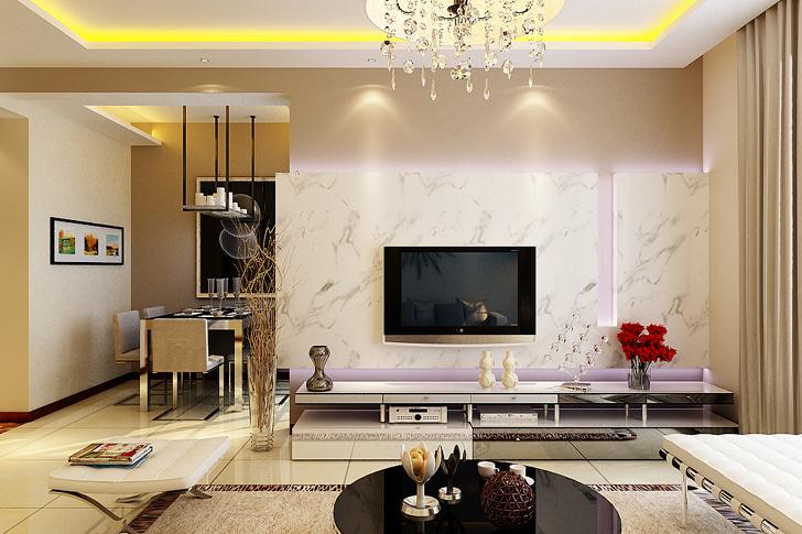 简约 三居 白领 客厅图片来自业之峰太原分公司在宁静居所的分享