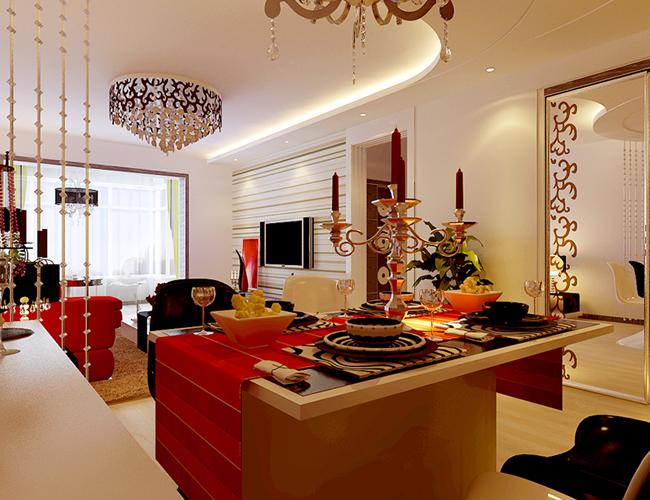 简约 三居 别墅 餐厅图片来自北京世家装饰工程有限公司在爱建新城现代简约的分享