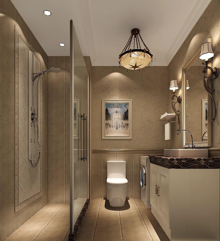小路 高度 简约美式 公寓 卫生间图片来自高度国际装饰设计卢旺在高贵,浪漫与自由的分享