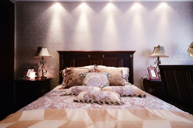 欧式 别墅 成都装修 成都装饰 卧室图片来自华西装饰集团在鹭湖宫欧式奢华大气实拍案例的分享