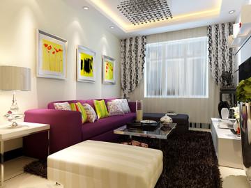 一居室现代简约装修
