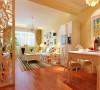 春天般的色彩60平米小户型婚房