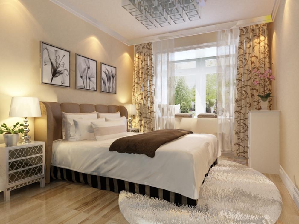 卧室图片来自实创装饰上海公司在一居室现代简约装修的分享