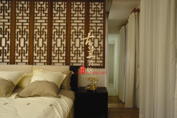 中式 大气 传统 装修图片 成都装修 卧室图片来自香港古兰装饰-成都在沉稳,大气,幽静新中式的分享