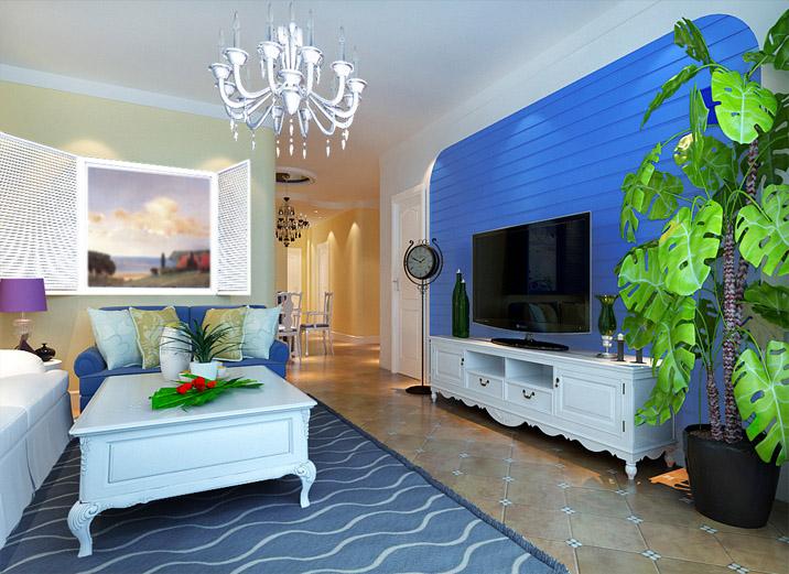 混搭 三居 收纳 80后 小资 客厅图片来自shichuangyizu在外交部138平地中海,三居室的分享