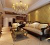 客厅沙发背景墙:美观不失大气。采用软包、绣花布料创造需要的气氛,配置由红木、胡桃木和橡木做成的深色家具,这样的家具很容易和墙面以及织物的暖色调协调。