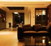 名雕装饰设计-纯水岸三居室文艺雅居-客厅餐厅全景