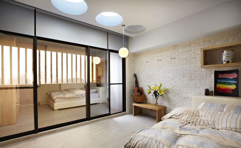 田园 欧式 混搭 二居 三居 旧房改造 80后 小资 卧室图片来自超凡装饰金牌工长路竹在风和日丽80平米的分享