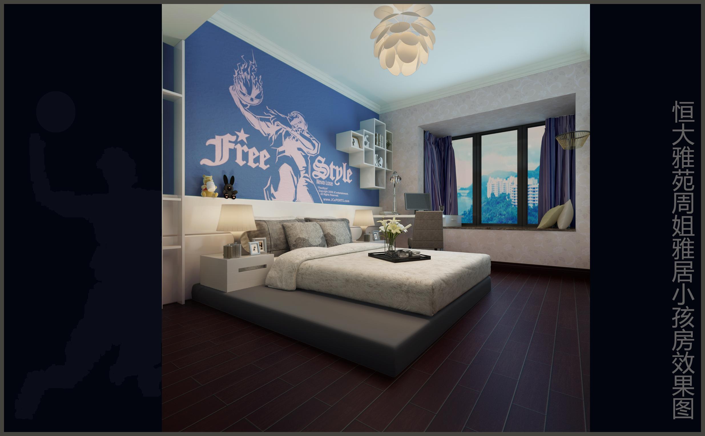 欧式 三居 卧室 客厅 旧房改造图片来自用户5017848653在恒大欧式的分享