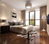 侧卧效果图:二层卧室作为孩子的卧室,既简单、明亮,有舒适、温馨!