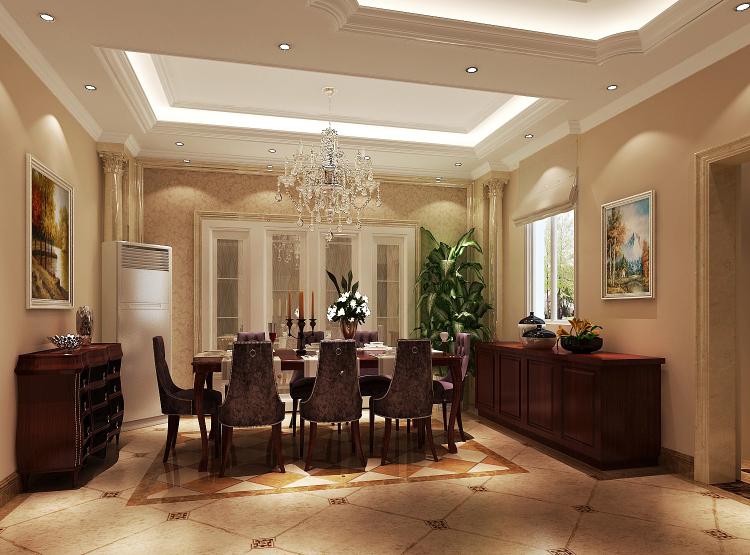 别墅 欧式 餐厅图片来自专业别墅设计工作室在简欧风格的分享
