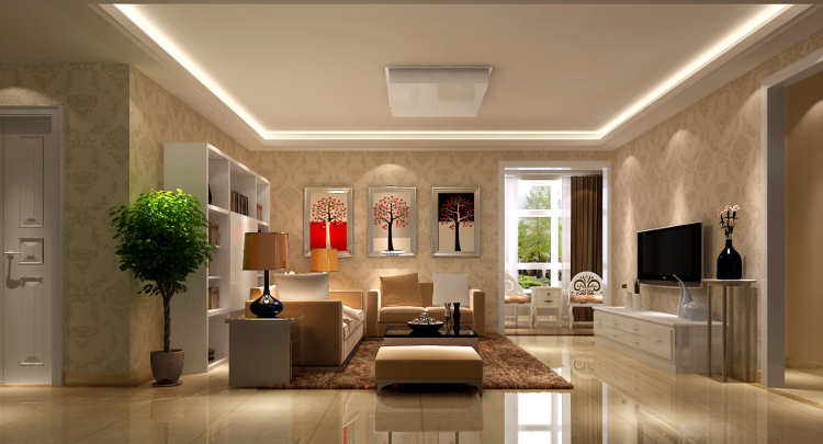 欧式 简约 K2百合湾 三居 白领 80后 小资 高度国际 收纳 客厅图片来自北京高度国际装饰设计在K2百合湾120平简欧精彩不容错过的分享