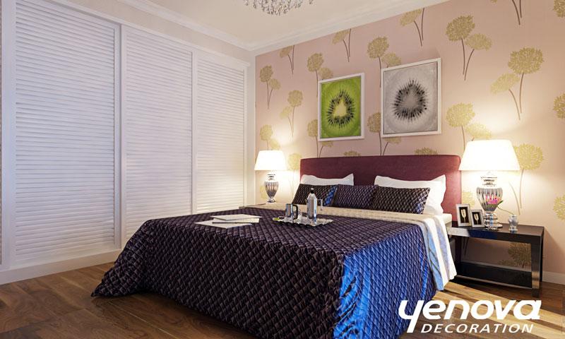 简约 二居 装修效果图 兰州装修 设计案例 现代简约 卧室图片来自兰州业之峰装饰公司在清爽生活的分享