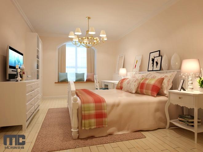 简约 欧式 田园 混搭 二居 白领 卧室图片来自上海倾雅装饰有限公司在城南新村的分享