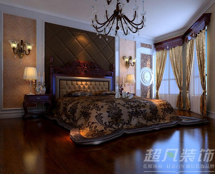 欧式 三居 保利百合 收纳 80后 小资 卧室图片来自河南超凡装饰陈吉武在保利百合欧式风格装修效果图的分享